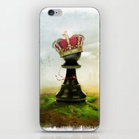 The King iPhone & iPod Skin