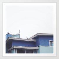 Dreaming Of A Blue Sky Art Print