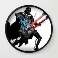 Darth Vader Force Guitar Solo Wall Clock