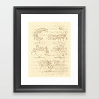Manus Creatura Framed Art Print