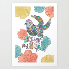 Lead With Love Art Print