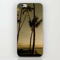 Barcos de Maui iPhone & iPod Skin