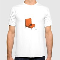 Favorite Chair Mens Fitted Tee White SMALL