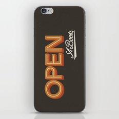 Open A Book iPhone & iPod Skin