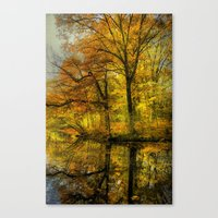 Fall Colors Of New Engla… Canvas Print