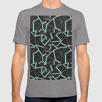 Ab 2 Repeat Mint Mens Fitted Tee Tri-Grey SMALL