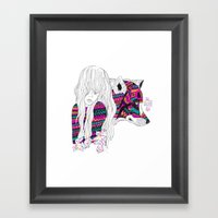 ▲SHE-WOLF▲ Framed Art Print