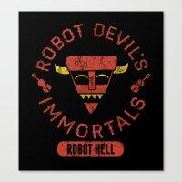 Bad Boy Club: Robot Devil's Immortals  Canvas Print