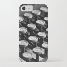 Typewriter keys iPhone 7 Slim Case