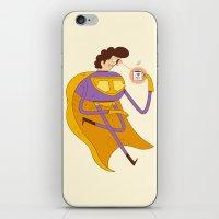 Man of Tea iPhone & iPod Skin