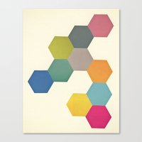Honeycomb I Canvas Print