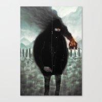 Signal Canvas Print