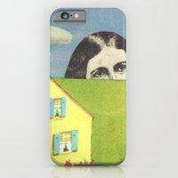 iPhone & iPod Case featuring Partly Cloudy by Felicia Piacentino