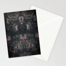 city chandelier Stationery Cards