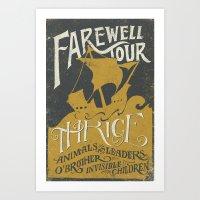 Thrice Farewell Tour Alt… Art Print