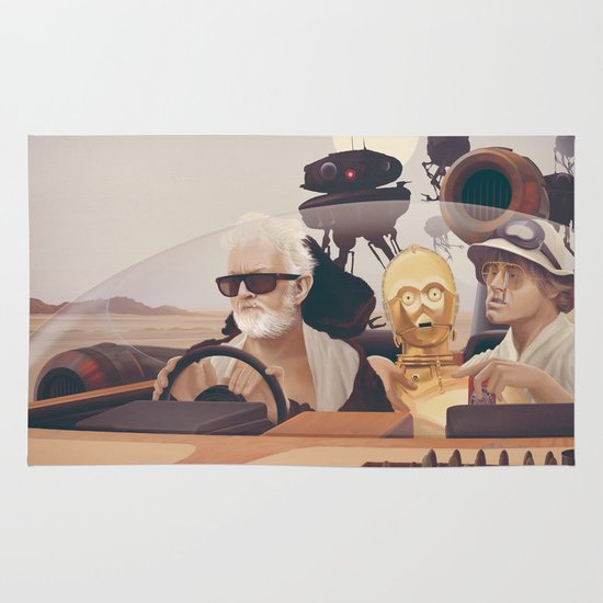 Fear and Loathing on Tatooine Area & Throw Rug