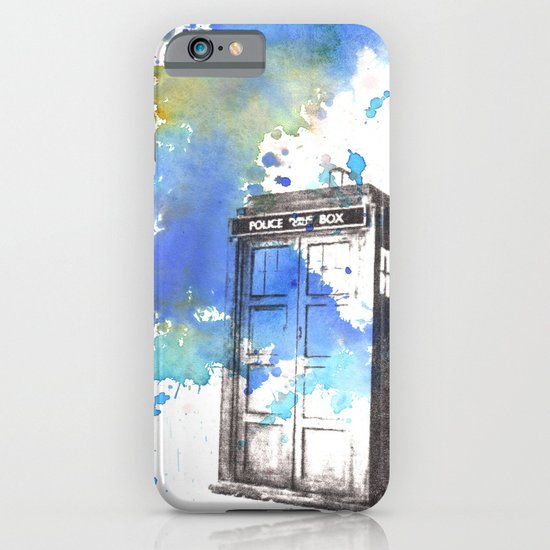 Doctor Who Tardis iPhone & iPod Case