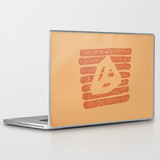 Lines Triangle Laptop & iPad Skin