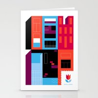 Postcards from Amsterdam / Borneo Stationery Cards