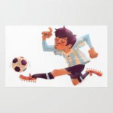 Lionel Messi, Argentina Jersey Rug