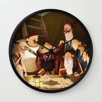 Secret Treasure Wall Clock