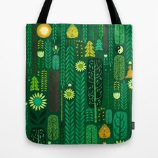 Sacred Forest (Portrait) Tote Bag