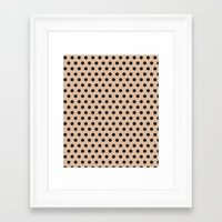 Dots Collection II Framed Art Print
