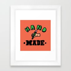 hand made Framed Art Print