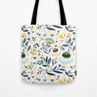 Geo Garden Tote Bag