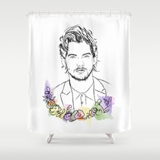 Louis Tomlinson Shower Curtain