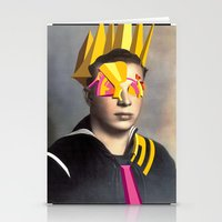 Stationery Card featuring 4 Eyes by Robert Cooper