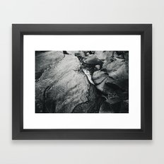 Waters of the Merced Framed Art Print