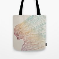 Tote Bag featuring FADE by Huebucket
