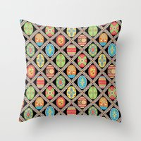 Egg-stravaganza Throw Pillow