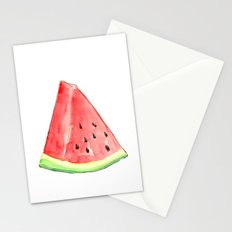 Watermelon Red Piece Stationery Cards