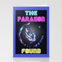 Paragon Mass Effect Stationery Cards