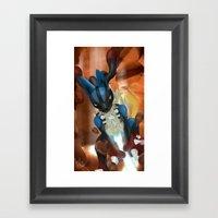 Bone Rush! Framed Art Print