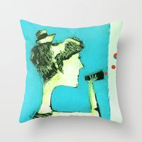 ACHTUNG! Throw Pillow