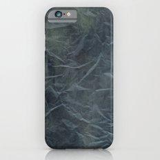 Steel Blue Paper Texture iPhone 6s Slim Case