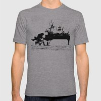 Pianist Passion Mens Fitted Tee Athletic Grey SMALL