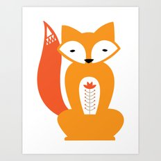 Ferdinand the Fox Art Print