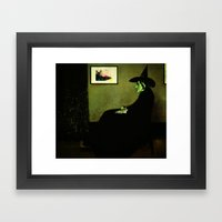 Wizzler's Mother  |  Wicked Witch Framed Art Print