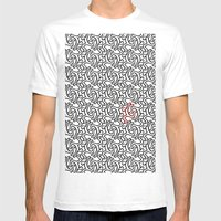 Leaping Men Mens Fitted Tee White SMALL
