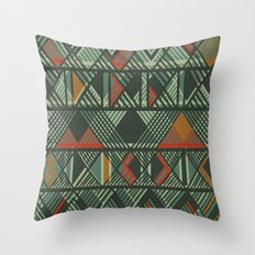 CHOMBO 2 mix Throw Pillow