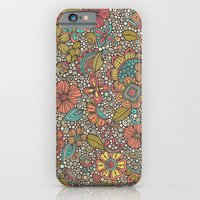 Doodles Garden iPhone 6 Slim Case