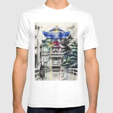 Spirited Away Mens Fitted Tee SMALL White