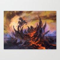 Lavaclaw Reaches Canvas Print