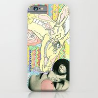 iPhone & iPod Case featuring luv el chivo, la cabra  by Cassidy Rae Limbach