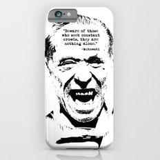 Charles Bukowski Quote Genius Of The Crowd iPhone 6 Slim Case