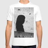 Girl In Córdoba Mens Fitted Tee White SMALL